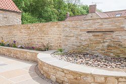 Central courtyard with water feature