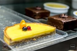 Sweet creations by the Pastry Chef Dionisis Alertas