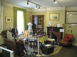 Inside the Cottage at the museum