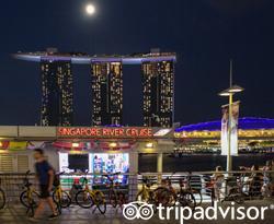 Exterior at the Marina Bay Sands