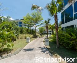 Grounds at the Splash Beach Resort by Langham Hospitality Group