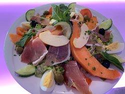 Salade italienne en suggestion