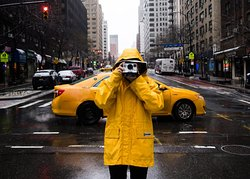 A snapshot on a rainy day