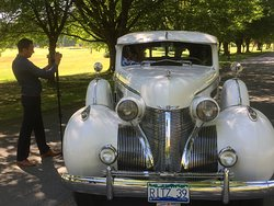 Classic 1939 Cadillac Fleetwood limousine
