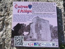 お城についての案内板と解説