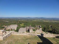 お城跡からの素晴らしい眺め
