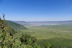Der Ausblick in den Ngorongoro Krater ... einfach unbeschreiblich!!!