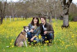 Winemaker Rob Schermeister and his wife Laura host all tastings at the tasting room in Glen Ellen