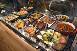 MilkyWay Cafe Hot Food Case