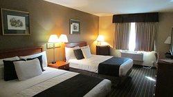 2 Queen Bedded Room