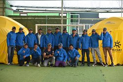 With my team before heading for our Spring Everest and Makalu Expedition