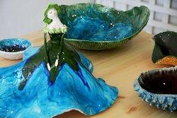 Handmade ceramic By Maria Rosa! Unique and original pieces!