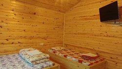 Olimpos Çamlık Pansiyon odaları