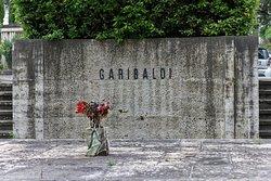 This is not where the Italian national hero Garibaldi is buried