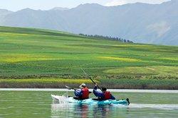 Kayak en Laguna Huaypo