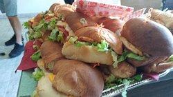 Very good sandwiches