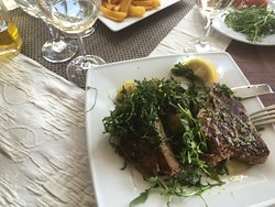 Tuna steak Ciparis