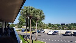 View from our room across to I4