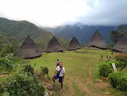 The real adventure to reach the traditional village at wae rebo Flores Indonesia