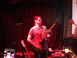 Owner Joe is a great guitarist