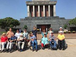 Wheelchaire Vietnam Travel