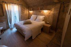 Les Chambres du Vivier à Durbuy, Ardenne.  Chambre Terre