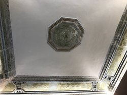 Ceiling of our room at Bellaroto Suite 2. Beautiful.... Just like the bathroom.