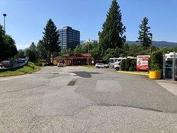 Capilano River RV park is een goede uitvalsbasis voor een bezoek aan Vancouver