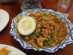 Delicious Thai food and at an affordable price. Value for $$$