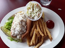 Crab roll plate