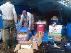 alimentos para camping por un mes en la reserva Pacaya Samiria