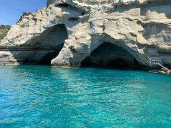 A la découverte des côtes de Milos...