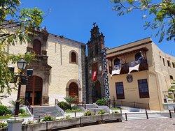 L'église et l'ancien Couvent de San Agustín