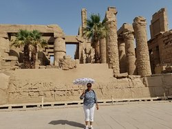 open air museum at Luxor