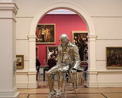 A recent addition to the New South Wales Art Gallery is a stainless steel sculpture of Captain James Cook ('The English Channel' was created by NZ artist Michael Parekowhai) . It is an extraordinary work. Sydney Nimble Tours can include a visit to this art gallery in our bespoke day out. We recommend around 60-90 minutes.