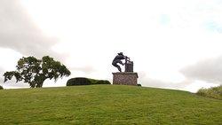 Grape Crusher Statue