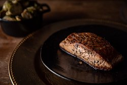 Scottish Salmon Grilled to Perfection