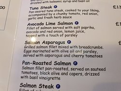 Salmon Asparagus???