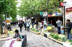 Vendeurs de rue , Avenue d'Ivry