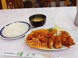 日替わり定食 700円(税込)