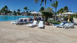 Beautiful poolside