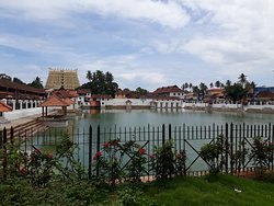 Padmatheertha- the pond belongs to the temple
