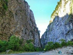 Yupsharskiy Canyon