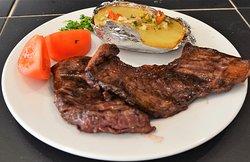 Entrañas deliciosa carne sabrosa y jugoza.