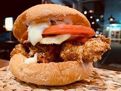 Our new Chicken Parmi Burger