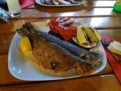 Super Fischgericht in schöner Lage!
