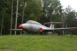 A real Russian Jet Fighter plane