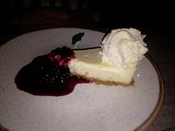 cheesecake is always a favourite, looks yummy