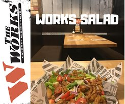 We don't just have Gourmet Burgers here at the WORKS!