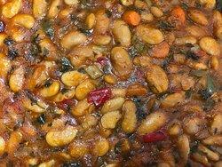 Traditional baked beans Γίγαντες στον φούρνο
